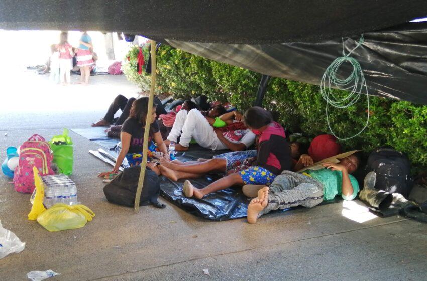 Miseria y muerte gira entorno a la minga Indigena en Montería