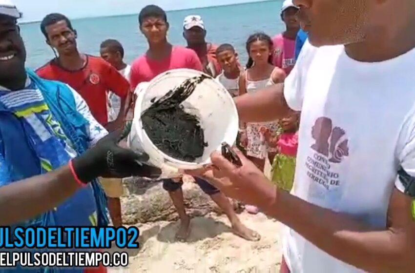 Derrame de petróleo en coveñas