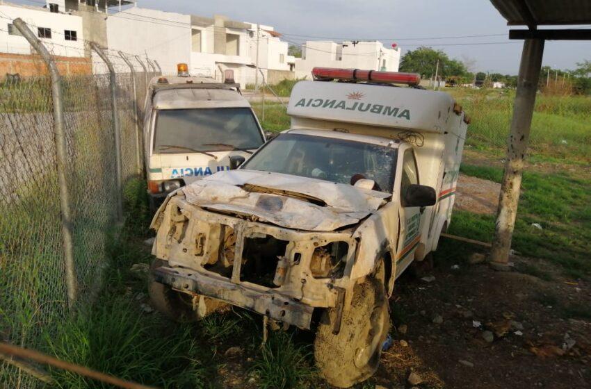 Ambulancias del municipio de Tierralta en total abandono en Montería