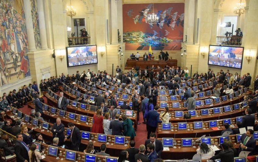 En vivo: comienza sesión para votar moción de censura a Mindefensa