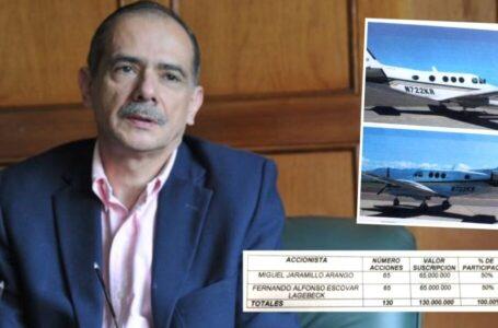 Cae aeronave con más de 400 kilos de coca de un uribista reconocido