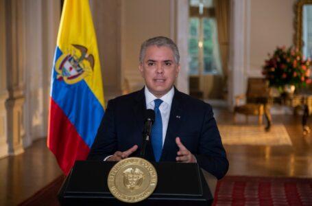 Iván Duque afirma que disidentes de las FARC contratan a personas para actos vandálicos