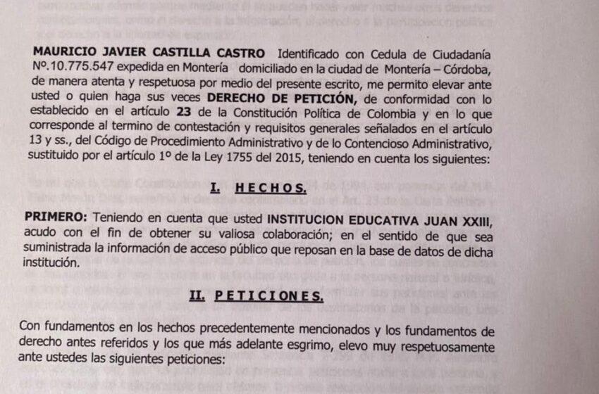 Investigación sobre recursos de gratuidad en las instituciones educativas de Montería