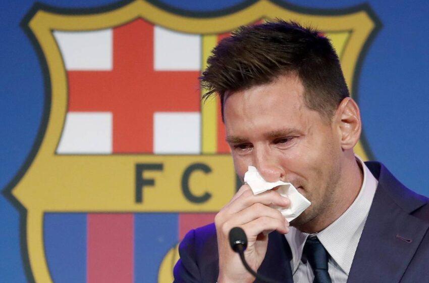 Messi: 'No estaba preparado para marcharme' del Barcelona